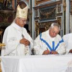 Santa Cruz e Senhora do Rosário receberam novo pároco e colaborador pastoral