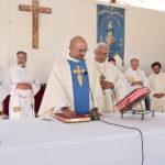 Tomada de posse na Charneca de Caparica decorreu no terreno da futura Igreja