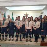 Agrupamento 1399 Afonsoeiro confiado à proteção de Nossa Senhora