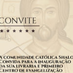 Comunidade Shalom vai inaugurar Centro de Evangelização
