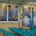 Santuário de Cristo Rei inaugura 20 quadros dedicados aos Mistérios do Rosário