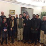 Presidente da Câmara Municipal de Almada recebe, pela primeira vez, o Clero da cidade