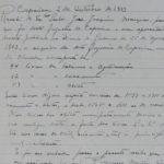 Livro do mês do Centro de Documentação: Recibo do Auto de Entrega dos Livros Paroquiais ao Registo Civil, 1913