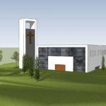 Charneca de Caparica: Primeira imagem da nova Igreja revelada