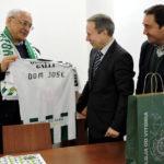 Vitória Futebol Clube visitou Bispo de Setúbal