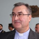 D. José Ornelas saúda o novo Bispo do Porto, D. Manuel Linda