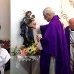 Quinta da Princesa: Entronização da imagem de São José, patrono da nova capela
