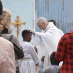 D. José Ornelas celebrou a Páscoa da Ressurreição do Senhor no Bairro do 2.º Torrão