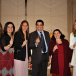 Comunidade Shalom em festa com Promessas dos seus membros