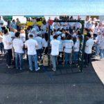"""Cáritas Diocesana recebeu grupo de voluntários para melhorias no infantário """"O Cogumelo"""""""