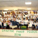 """""""Jantar para Todos"""" em Almada: Apoio aos mais carenciados deve acontecer ao longo de todo o ano"""