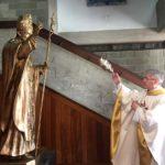 Almada: Bênção de imagem de São João Paulo II marca início das comemorações do cinquentenário da nova igreja