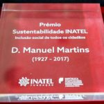 """Fundação INATEL homenageou D. Manuel Martins com prémio """"Sustentabilidade – Inclusão social"""""""