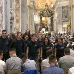 Jovens da Paróquia da Cova da Piedade estiveram na missa de encerramento do Sínodo dos Bispos