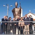 Estátua evoca D. Manuel Martins na primeira paróquia que criou na diocese