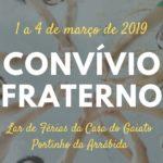 Convívio Fraterno para jovens: 1 a 4 de março de 2019