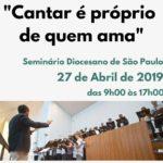 Liturgia e Música Sacra: Jornada Diocesana de Formação Coral