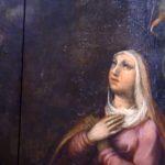 Arte Sacra: Rezar com Arte – Pintura d'A Aparição à Virgem Maria