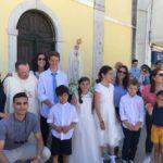 Trafaria: Batismos da Catequese Paroquial lembram os Pastorinhos de Fátima