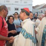 Cáritas: Cardeal Tagle termina visita a Portugal em jantar com sem-abrigo