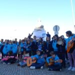 Externato Diocesano foi cantar as janeiras pelas ruas de Almada