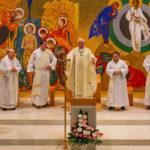 Religiosos dehonianos em visita ao Barreiro