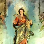 S. Sebastião: restauro do altar de Nossa Senhora do Rosário
