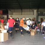 Escuteiros ajudaram Banco Alimentar Contra a Fome com 7,5 toneladas de alimentos