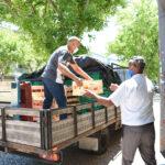 """""""Na Partilha não há Distância"""": Quasi-Paróquia de São Francisco Xavier distribui bens essenciais aos mais necessitados com """"alegria e amor"""""""