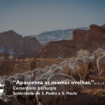 """Liturgia Diária: Solenidade de S. Pedro e S. Paulo – """"Apascenta as minhas ovelhas."""" (Jo 21, 15-19)"""
