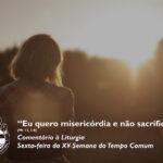 """Liturgia de Sexta-feira da XV Semana do Tempo Comum – """"Eu quero misericórdia e não sacrifício."""" (Mt 12, 1-8)"""