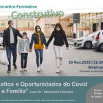 Família: equipa pastoral promove segunda sessão do ciclo formativo