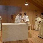 Setúbal/Azeda: D. José Ornelas dedicou nova Igreja ao Imaculado Coração de Maria