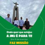 JMJ: Jovens portugueses desafiados a levar esperança e alegria a todo o país no início do Advento