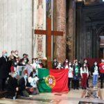JMJ 2023: Jovens portugueses recebem os símbolos das Jornadas, «passo importante» rumo a Lisboa