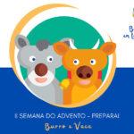 """Advento e Natal 2020: """"Belém em tua casa"""" – O Burro e a Vaca (Preparai), II Semana do Advento"""