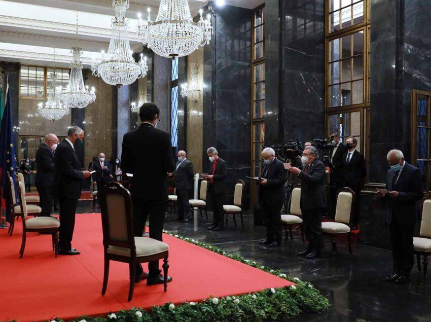 PR Marcelo Rebelo de Sousa assiste a cerimónia ecuménica na Câmara Municipal do Porto