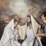 """Charneca de Caparica/Arte Sacra: apresentação da pintura """"Coroação de Maria"""""""