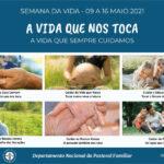 Igreja em Portugal celebra Semana da Vida com convite a «cuidar», perante a pandemia