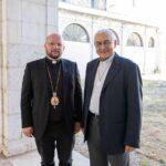 D. José Ornelas recebeu D. Stepan Sus, Bispo da Igreja Ucraniana Greco-Católica