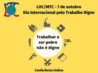 Conferência Online Dia 7 de outubro   21:00